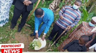 Bogoso Area Launches Tree Planting Campaign Exercise 012