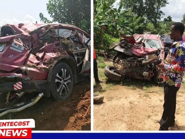Pastor Daughter Saved From Gory Accident 012