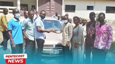 Pastor Wife Donate Vehicle To Ellobankata District