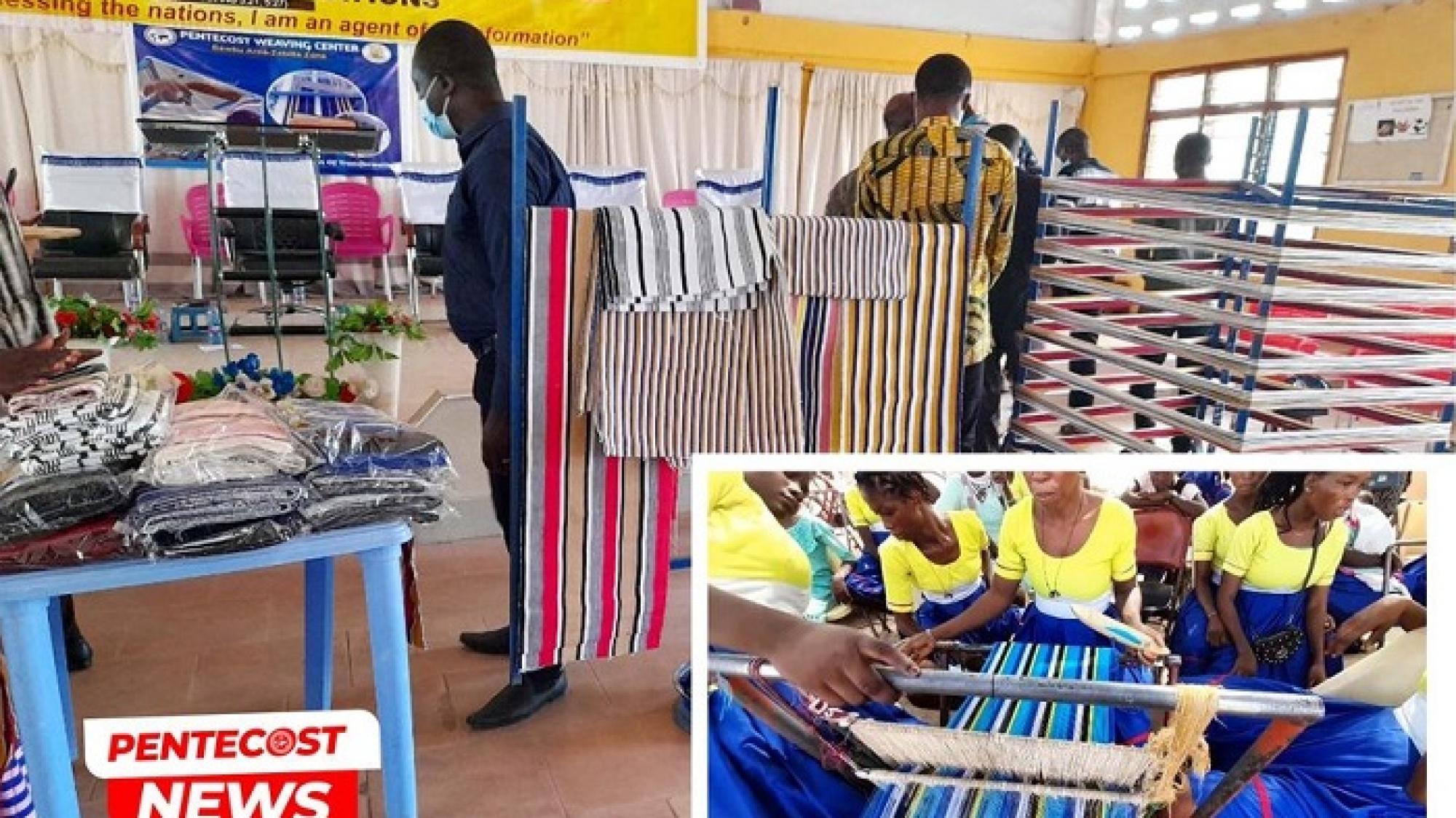 Pentecost Weaving Centre Inaugurated 01