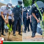 The Church Of Pentecost, IGP Plant Trees At National Police Training School