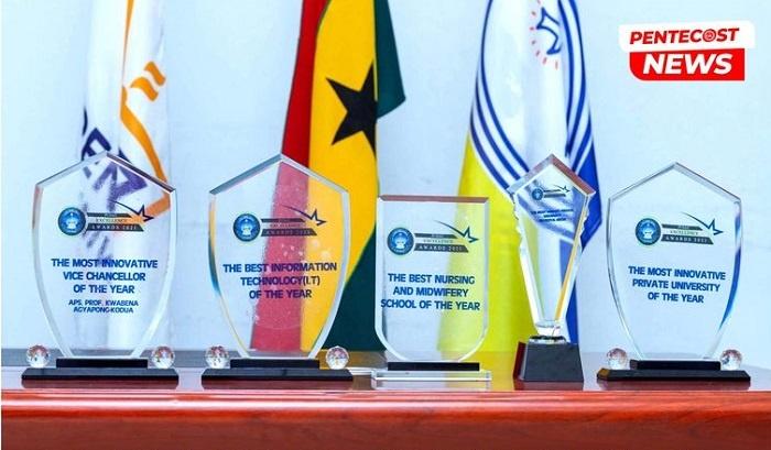 Pentecost University Sweeps 5 Top Awards in One Ceremony