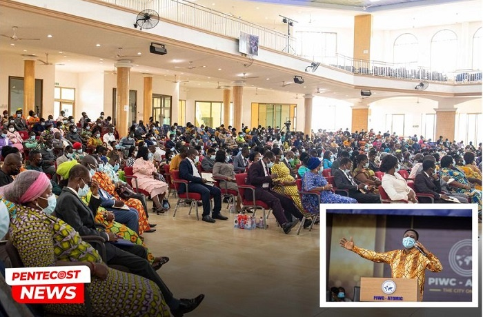 Strive For Excellence – Chairman Tells Ministers & Wives